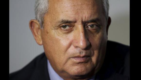 Guatemala: La carta de renuncia del presidente Pérez Molina