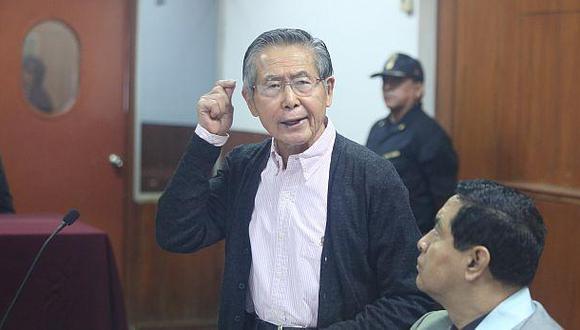 Alberto Fujimori permanecerá en prisión luego de que el Poder Judicial rechazara su excarcelación por riesgo al contagio del COVID-19.(Foto: El Comercio)