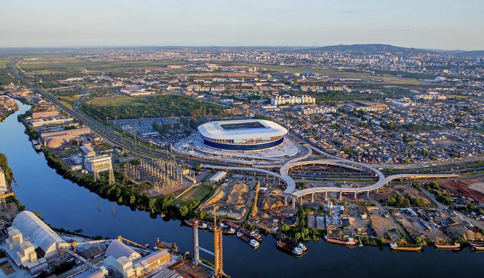 En el 2012 se inauguró el estadio Arena do Grêmio en esta ciudad rodeada por los ríos Guaíba y Yacuí. (Foto: embajada de Brasil)