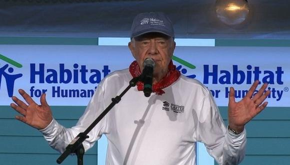 """Jimmy Carter: """"EE.UU. vive un resurgimiento del racismo"""""""