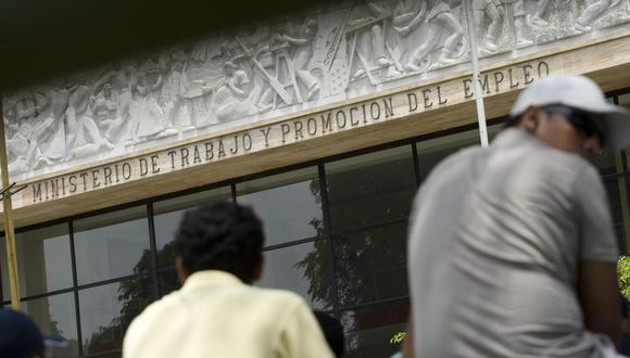 El Ministerio de Trabajo y Promoción del Empleo (MTPE). (Foto: USI)