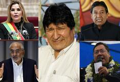 La polarizada campaña electoral de Bolivia en 10 frases de sus grandes protagonistas   FOTOS