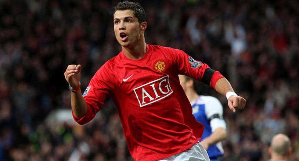 Ronaldo se convirtió en uno de los mejores jugadores del mundo en el Manchester United | Foto: Agencias