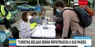 Coronavirus en Perú: ciudadanos belgas serán repatriados a su país