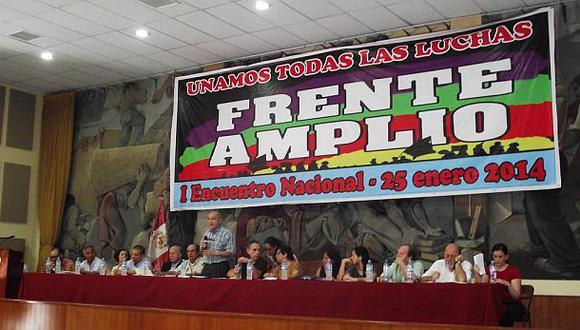 Frente Amplio participará en comicios municipales y regionales