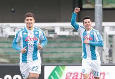 'Chucky' Lozano marcó el tercer gol más rápido en la historia de la Serie A | VIDEO