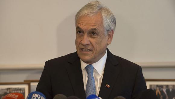 El presidente Sebastián Piñera consideró el devastador incendio como una verdadera tragedia. (Foto: EFE)