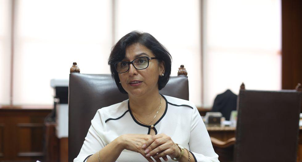 Ministra Sylvia Cáceres dejó en claro que se debe privilegiar el acuerdo entre trabajadores y las empresas para adoptar cualquier medida . (Foto: GEC)