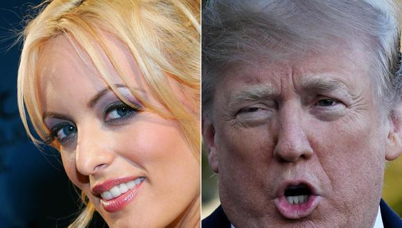 Stormy Daniels pide a tribunal que Donald Trump declare bajo juramento. (AFP).