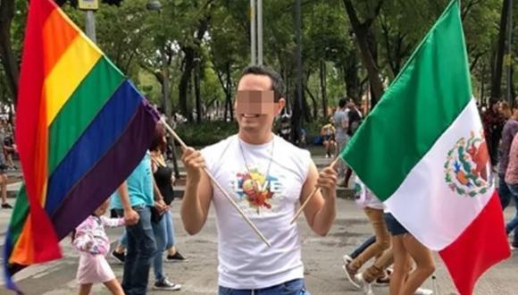 """La víctima, identificada como Omar """"N"""", era activista gay."""