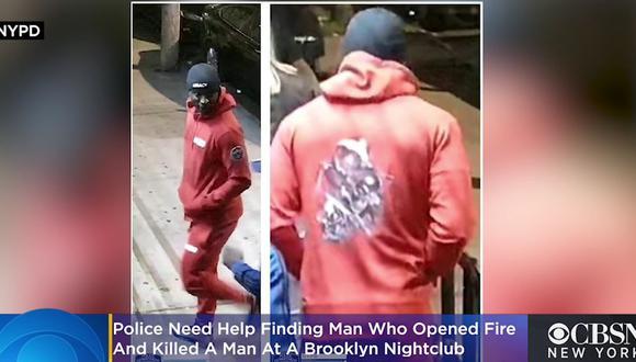 La policía de Nueva York (Estados Unidos) mostró una fotografía del supuesto agresor y pidió la colaboración ciudadana para su detención. (Captura de video/CBS).