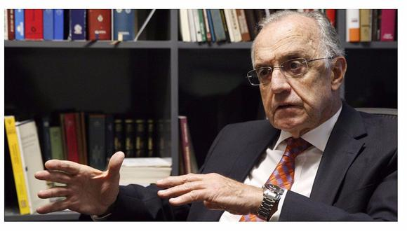 El vicepresidente del Tribunal Constitucional, Augusto Ferrero, sostuvo que los poderes del Estado debe ser consecuentes para evitar el hacinamiento carcelario. (Foto: GEC)