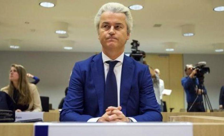 Líder ultraderechista de Holanda pide un referéndum sobre la UE