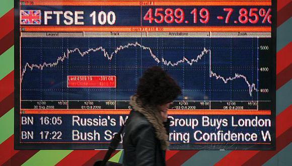 Brexit: bolsas europeas pierden casi mil millones de dólares