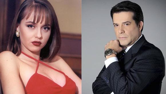 Gabriela Spanic y Miguel de León se casaron en 1997.