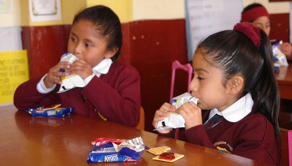 El gobierno impulsa la alimentación saludable para nuestros hijos. (Foto USI)