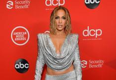 AMAs 2020: Jennifer Lopez y el brillante atuendo que llevó a la ceremonia