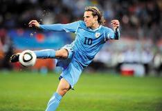 Diego Forlán y cómo se convirtió en el que mejor trató al balón de Sudáfrica 2010