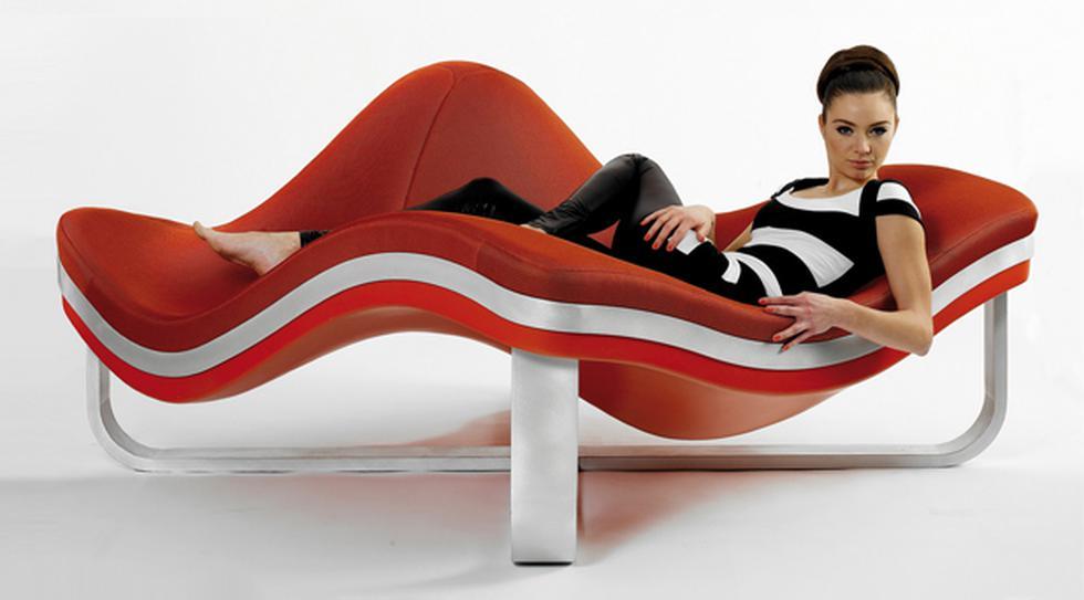 Como en el mar: Descansa mejor en este mueble ondulado  - 1