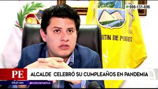 SMP: Alcalde celebra cumpleaños sin respetar protocolos de bioseguridad