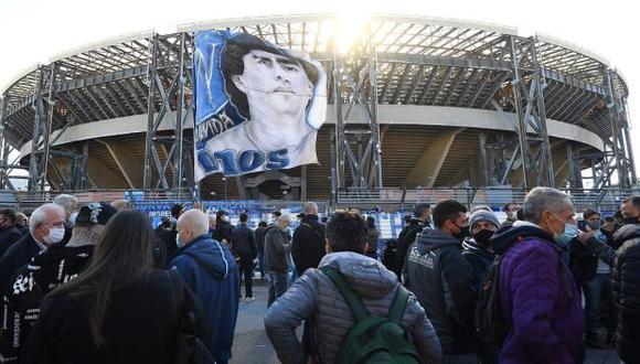 Diego Armando Maradona falleció el 25 de noviembre, a los 60 años. (Foto: Napoli)