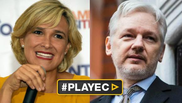 Ecuador: Viteri retirará asilo a Assange si gana elecciones