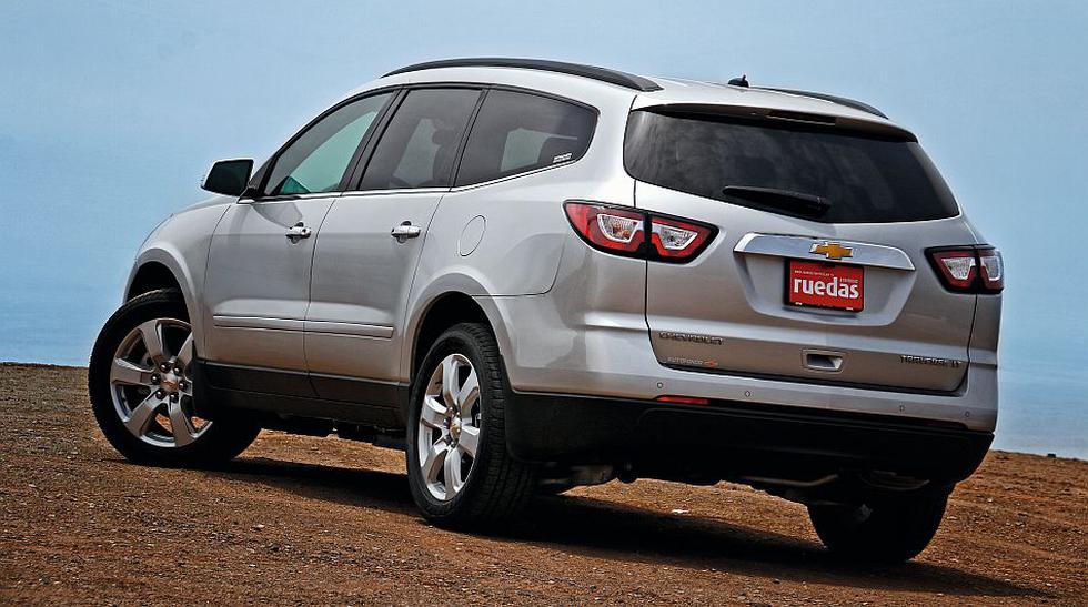 TEST: Probamos la nueva Chevrolet Traverse [FOTOS] - 2