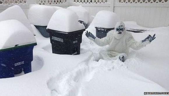 Diez cosas raras que los estadounidenses hacen con la nieve