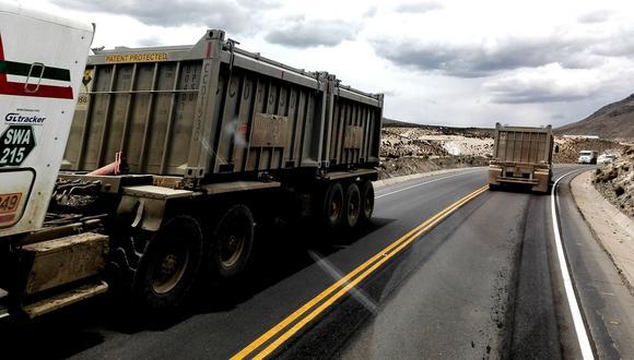 La región con mayor intervención de vías es Huancavelica. (Foto: GEC)