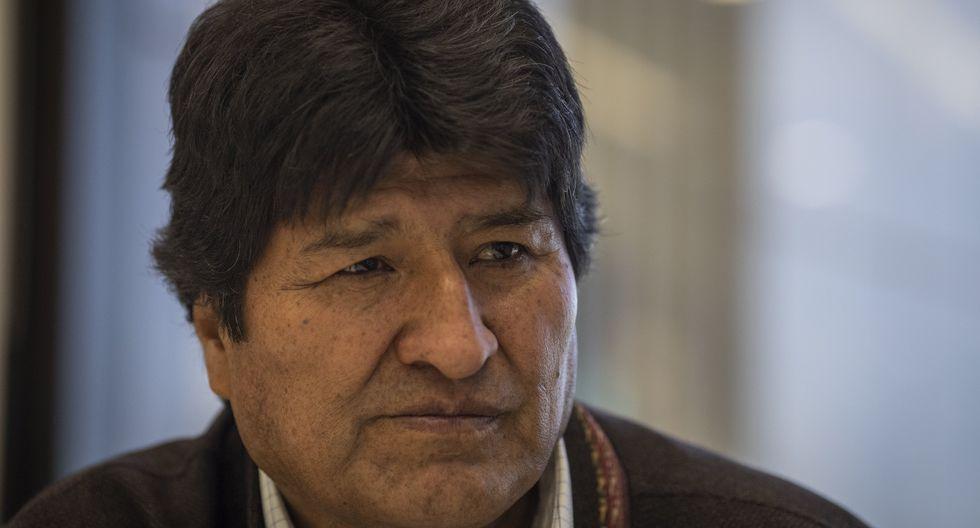 Evo Morales, expresidente de Bolivia. (Alejandro Cegarra/Bloomberg).
