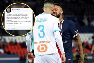 Neymar usa redes sociales para denunciar racismo