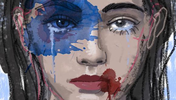 """""""Somos una sociedad que convive con la violencia hacia la mujer. No solo porque tenemos un alto número de violadores sexuales [...] sino porque tenemos un silencio cómplice"""".  (Ilustración: Giovanni Tazza)"""