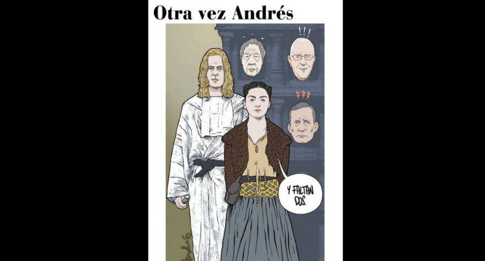 Otra vez Andrés: Perú, país de expresidentes investigados, según la mirada de Edery.