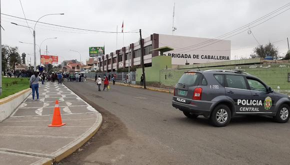 Wilder Carcausto cumplía funciones en las caballerizas del Cuartel Tarapacá. Él desapareció el domingo 10 de mayo. (Foto: Ernesto Suárez)