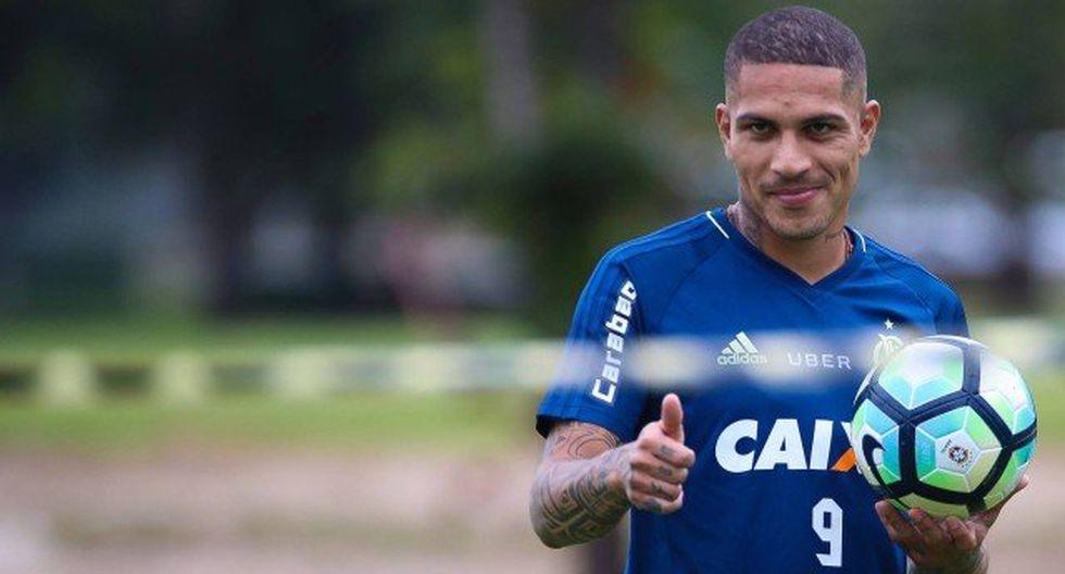 """El medio brasileño """"Extra"""" ha señalado que la agencia que representa a Paolo Guerrero ha iniciado las negociaciones con Palmeiras, que está dispuesto a cumplir con las exigencias del ariete peruano. (Foto: Web Flamengo)"""