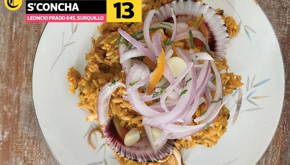 Una de las muestras de la comida que puedes encontrar en el restaurante S'Concha. (Foto: Paola Miglio/El Comercio)