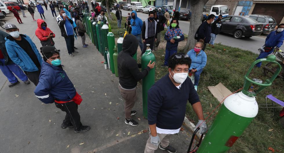 En medio de la pandemia, el oxígeno fue uno de los grandes problemas de los peruanos.