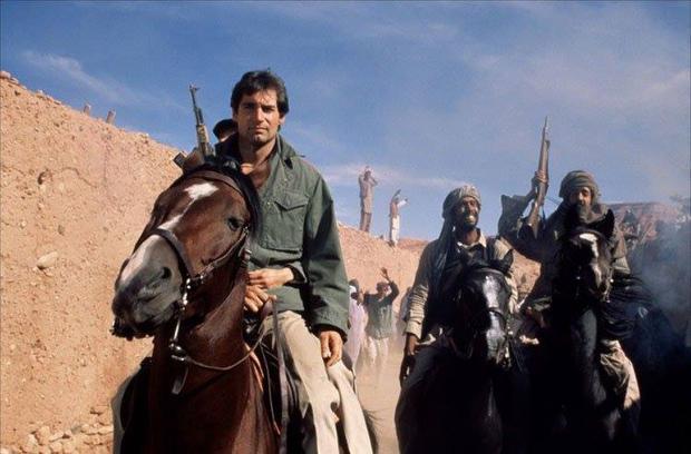 In 007: His name is Danger (1988), James Bond (Timothy Dalton) fights the rebel Mujahideen in Afghanistan.  (Photo: IMDB).