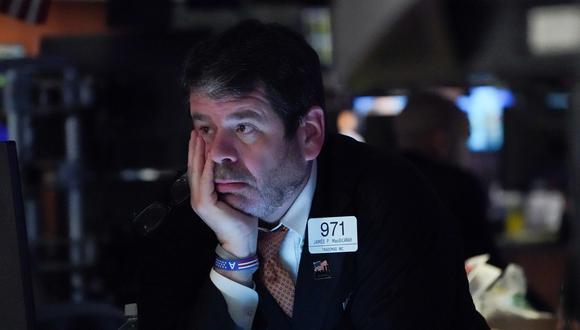 Las fuertes caídas del último mes han eliminado la mayor parte de la racha alcista de Wall Street desde la toma de posesión del presidente Donald Trump. (Foto: Bryan R. Smith / AFP)