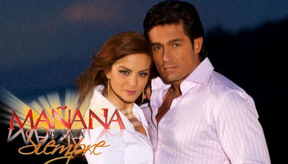 """SIlvia Navarro y Fernando Colunga eran una de las parejas preferidas del público por su interpretación en """"Mañana es para siempre"""" (Foto:Las Estrellas)"""
