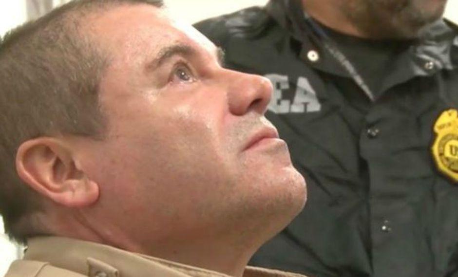 """""""El Chapo"""" fue sentenciado a cadena perpetua. Foto: DEA, BBC Mundo"""