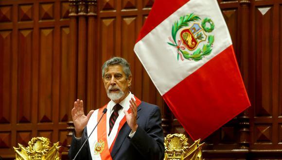 Francisco Sagasti se comprometió a impulsar la educación y aseguró que su gobierno se somete a cualquier acto de fiscalización (Foto: Presidencia)