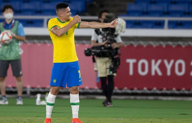 Brasil le ganó 4-2 a Alemania en el inicio del fútbol masculino de los Juegos Olímpicos Tokio 2020 | @CBF_Futebol