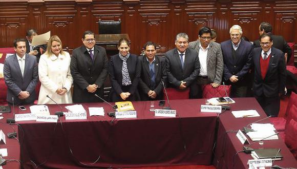 La Comisión de Constitución realizará su última sesión mañana. (Foto: Dante Piaggio/ Archivo El Comercio)