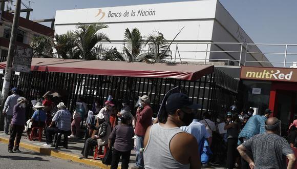 El Banco de la Nación es responsable de acercar al sistema financiero a los ciudadanos que no tienen acceso a la banca privada. (Foto: César Campos / GEC)