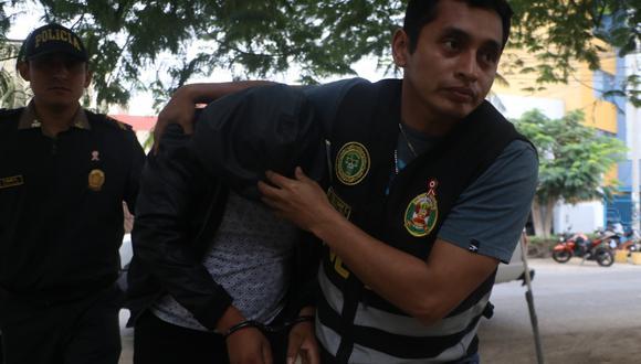 Trujillo: cae policía que robó dos pistolas de comisaría de Otuzco