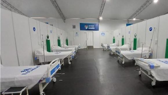 La puesta en marcha de este establecimiento de salud permitirá afrontar de mejor forma la segunda ola del COVID-19 en la región | Foto: Essalud / Difusión