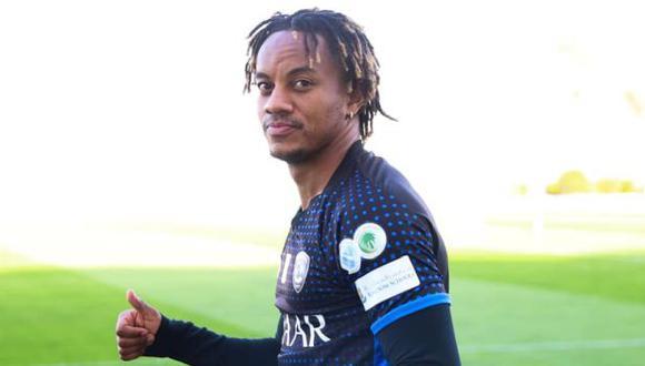André Carrillo ha participado en 9 partidos de la presente temporada de la liga saudí. (Foto: Al Hilal)