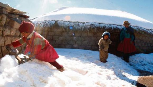 Arequipa: temperatura llegará a los 18 grados bajo cero