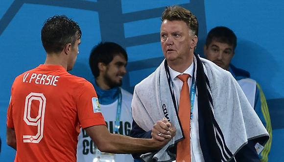 """""""No vuelvas a hacer eso nunca más"""", dijo enfadado el extécnico de la 'Oranje', recordó el retirado atancate en la biografía """"LvG, el entrenador y la persona"""", recientemente publicada. (Foto: AFP)"""